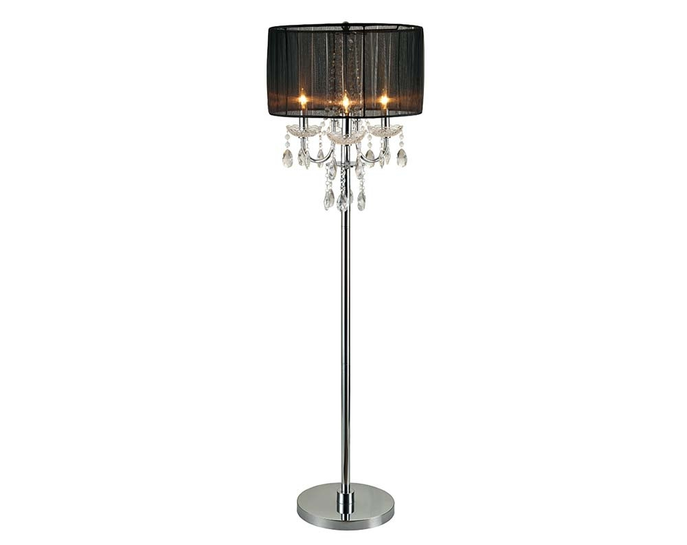 Discount Lamps Floor Lamps Table Lamps American Freight Throughout Black Chandelier Standing Lamps (Image 16 of 25)