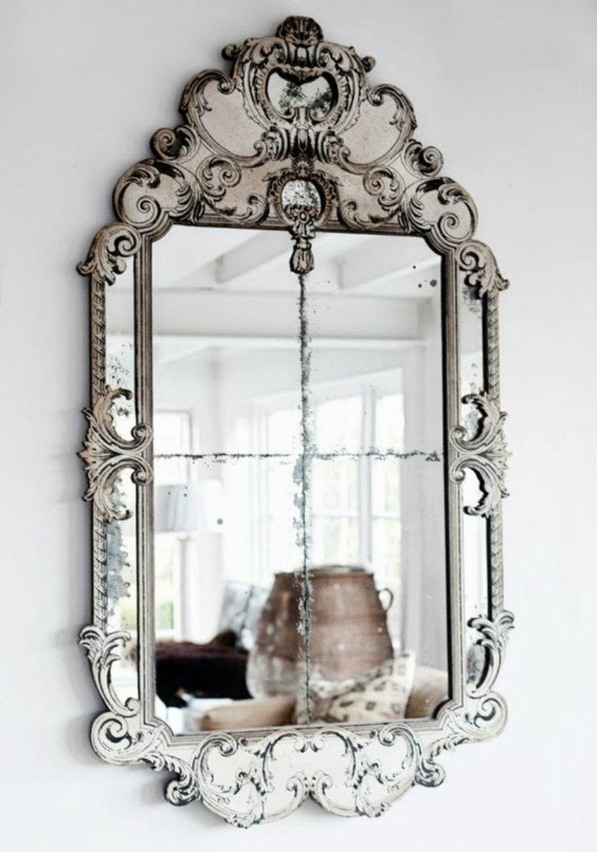 Discover The True Beauty Of Antique Luxury With Venetian Mirrors In Mirrors Venetian (Image 4 of 20)