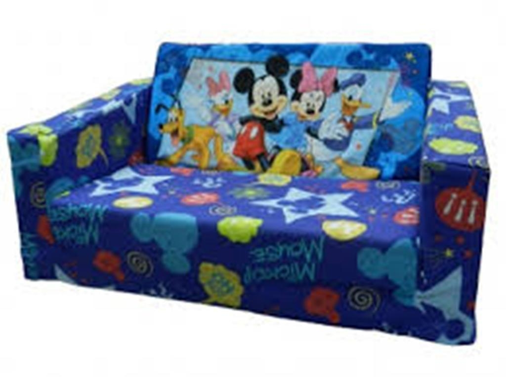 Disney Princess Mickey Mouse Flip Open Sofa Bed | Best Home With Mickey Flip Sofas (Image 5 of 20)