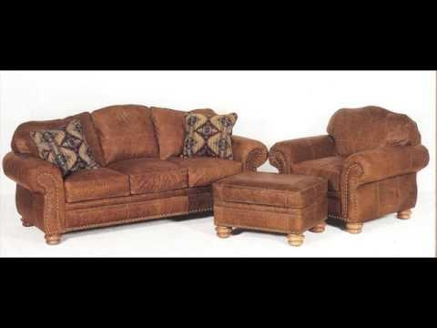Distressed Leather Sofa With Nailhead Trim – Youtube Throughout Brown Leather Sofas With Nailhead Trim (View 18 of 20)