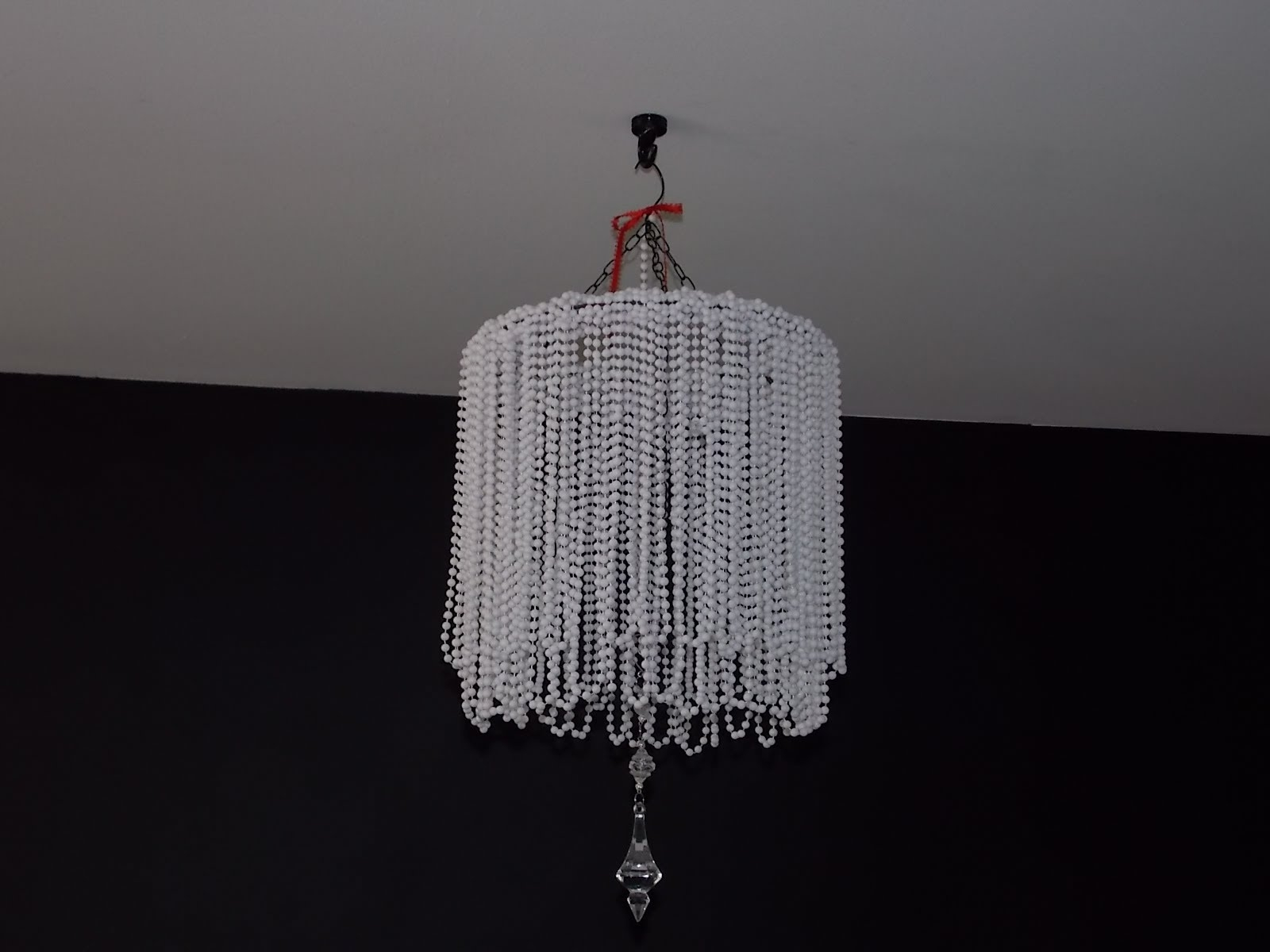Diy Beaded Chandelier Cheap Easy Youtube With Cheap Faux Crystal Chandeliers (Image 15 of 25)