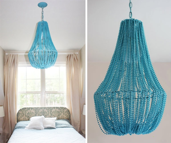 Diy Beaded Chandelier Design Trend Report 2modern Intended For DIY Turquoise Beaded Chandeliers (Image 21 of 25)