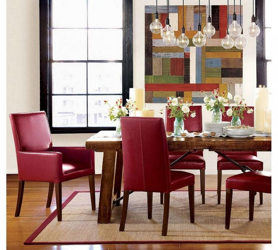 Diy Parson Dining Chairs In Red Dining Tables And Chairs (Image 10 of 20)