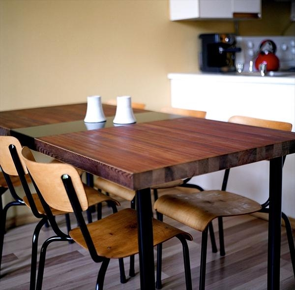 Diy Reclaimed Wood Dining Table Top (View 9 of 20)