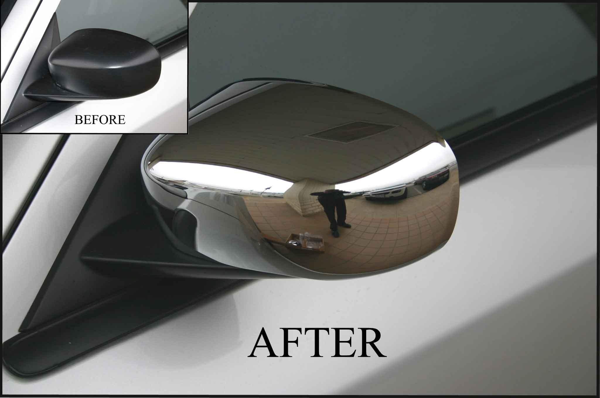 Dodge Magnum Chrome Door Handle / Mirror Cover Trim Package Throughout Chrome Mirrors (Image 7 of 20)