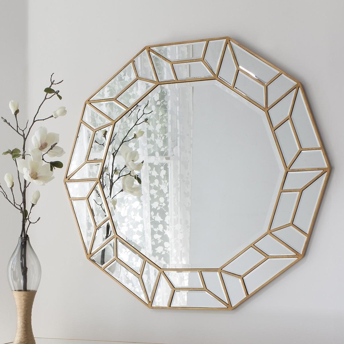 D'or Art Deco Mirror From £349 – Luxury Wall Mirrors | Ashden Road Within Art Deco Mirrors (Image 12 of 20)