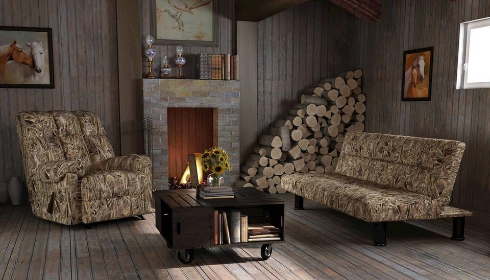 Dorel Home Realtree Camouflage Rocker Recliner – Walmart Throughout Camo Reclining Sofas (View 13 of 20)