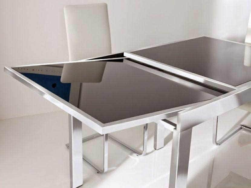 Download Extendable Dining Table For Small Spaces | Buybrinkhomes Inside White Square Extending Dining Tables (Image 8 of 20)