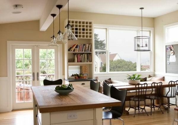 Download Kitchen Lighting Over Table | Gen4Congress Within Lamp Over Dining Tables (Image 12 of 20)