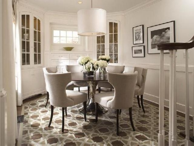 Download Round Dining Room Tables For 8 | Gen4Congress For 6 Seat Round Dining Tables (Image 12 of 20)
