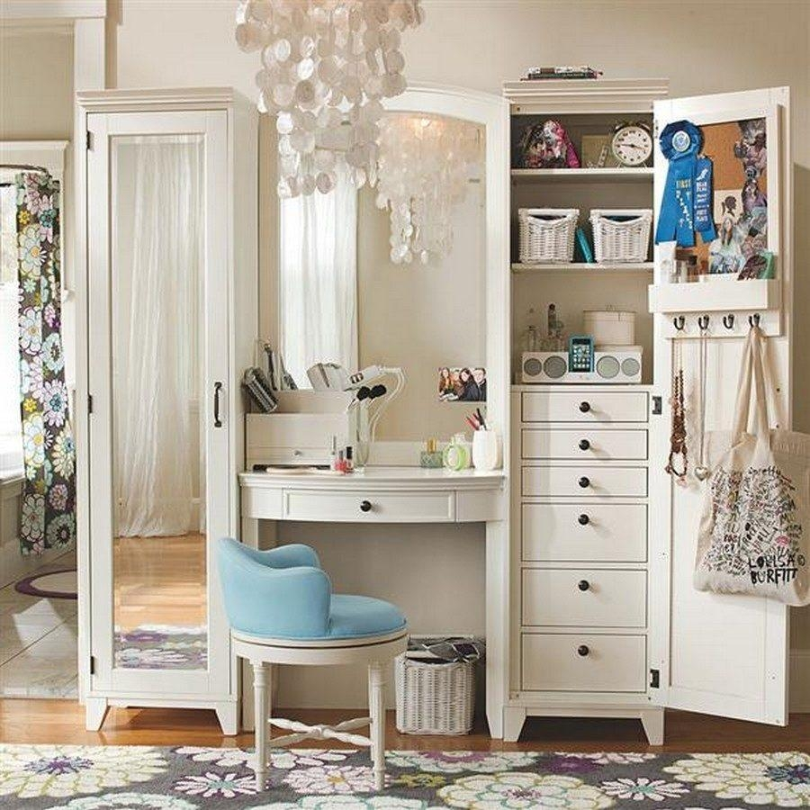 Dressing Table Designs With Full Length Mirror For Girls Gallery Inside Dressing Table With Long Mirror (Image 8 of 20)
