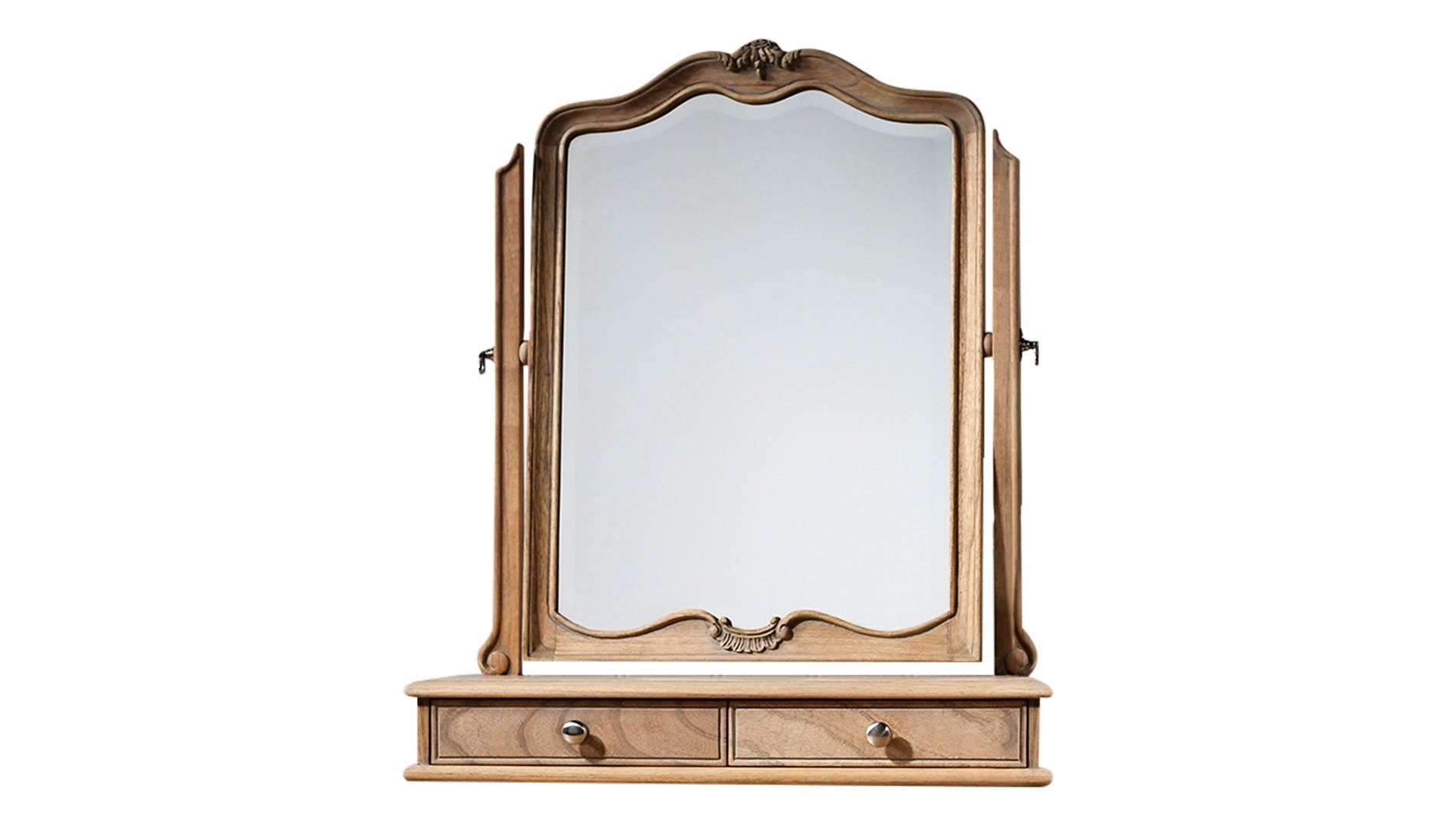 Dressing Table Mirror – Luxdeco Throughout Dressing Table Mirror (Image 6 of 20)