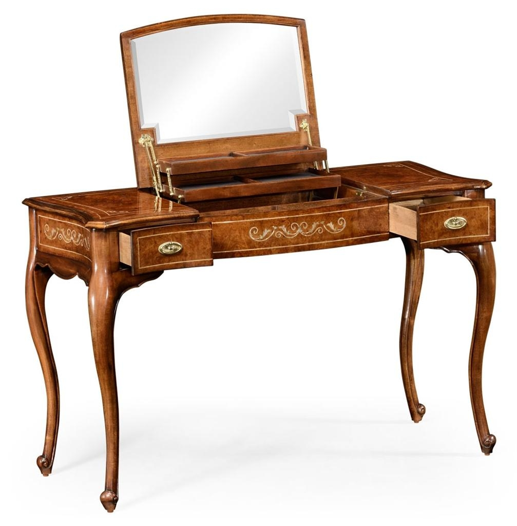 Dressing Table With Mirror. Luxury Furniture (Image 14 of 20)