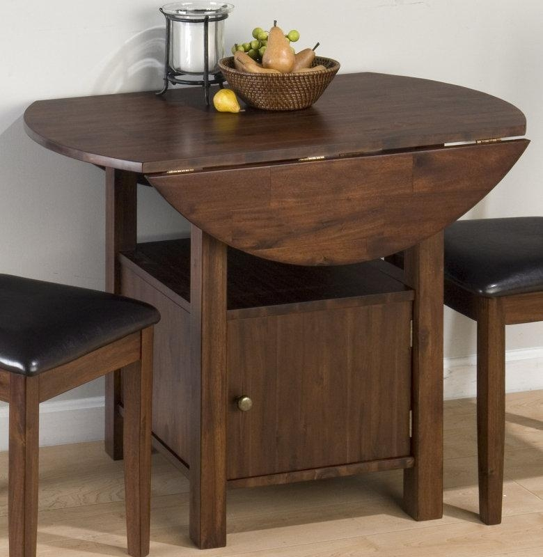 Drop Leaf Dining Table Is Perfect Choice For Small Spaces – Decor Inside Drop Leaf Extendable Dining Tables (Image 11 of 20)