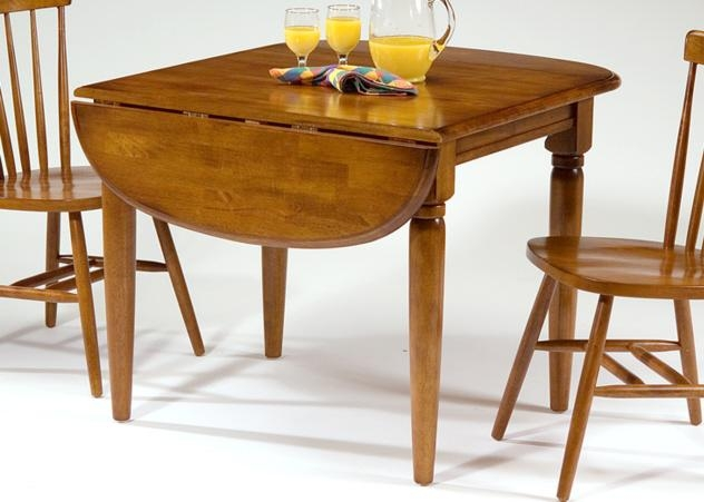 Drop Leaf Dining Table Is Perfect Choice For Small Spaces – Decor Inside Drop Leaf Extendable Dining Tables (Image 10 of 20)