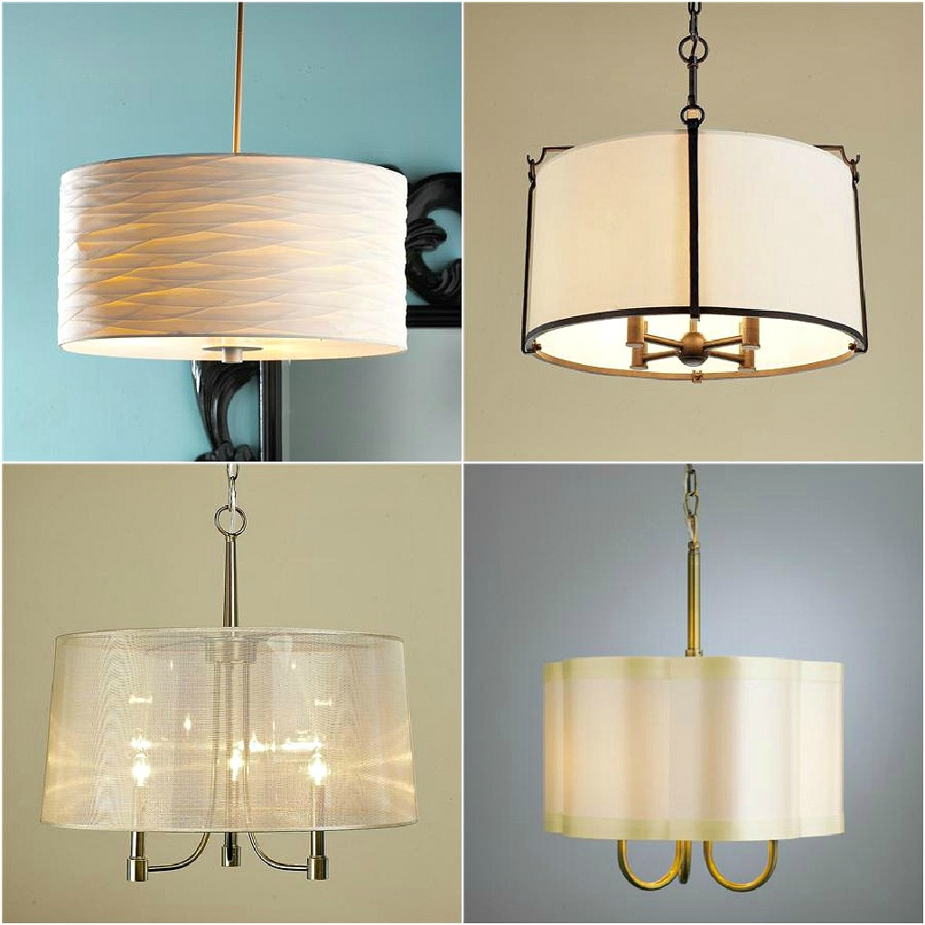 Drum Pendant Lighting Shades Pendant Lights With Punch Diy Drum Regarding Drum Lamp Shades For Chandeliers (View 16 of 25)
