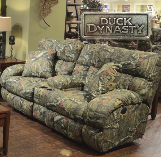 Duck Dynasty Camo Furniture Sales | Console Reclining Loveseat For Camo Reclining Sofas (View 7 of 20)