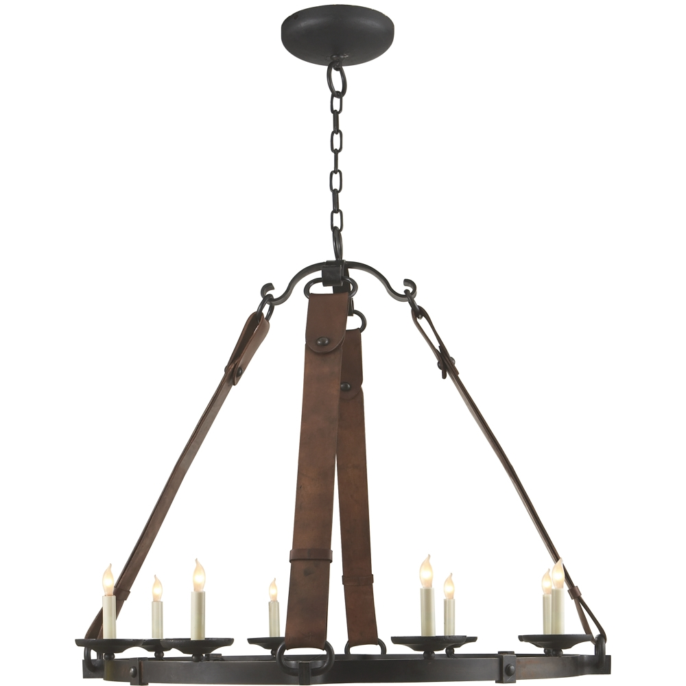 Dwell Home Furnishings Interior Design Chandelier Lighting At In Leather Chandeliers (View 8 of 25)