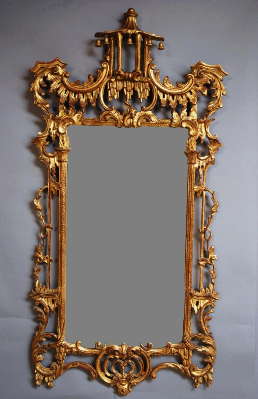 Early 20Th C Chinese Chippendale Style Mirror | 275575 Within Chinese Mirrors (View 2 of 20)