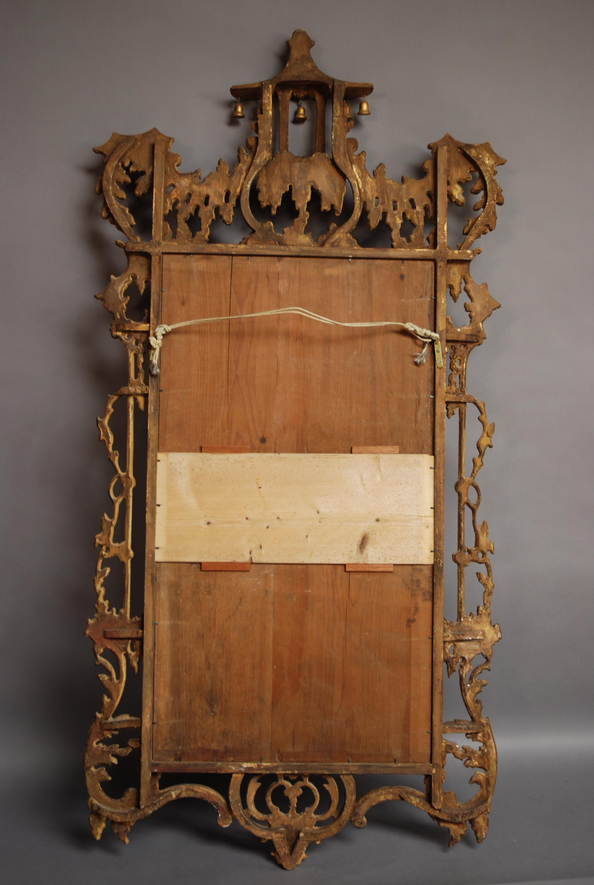 Early 20Th Century Chinese Chippendale Style Mirror (1920 England For Chinese Mirrors (View 10 of 20)