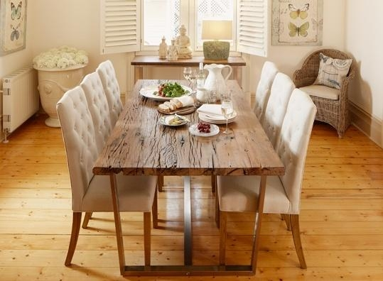 Early Settler – Railway Sleeper Dining Table | Home Love Throughout Railway Dining Tables (Image 10 of 20)
