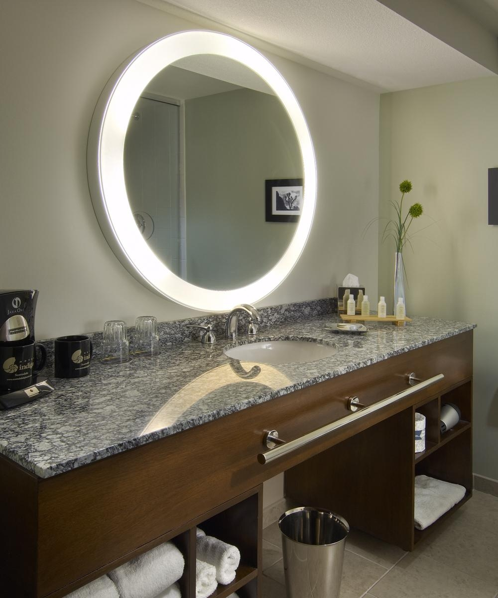 Electric Mirror – Lighted Mirror And Mirror Tv With Regard To Hotel Mirrors (View 2 of 20)