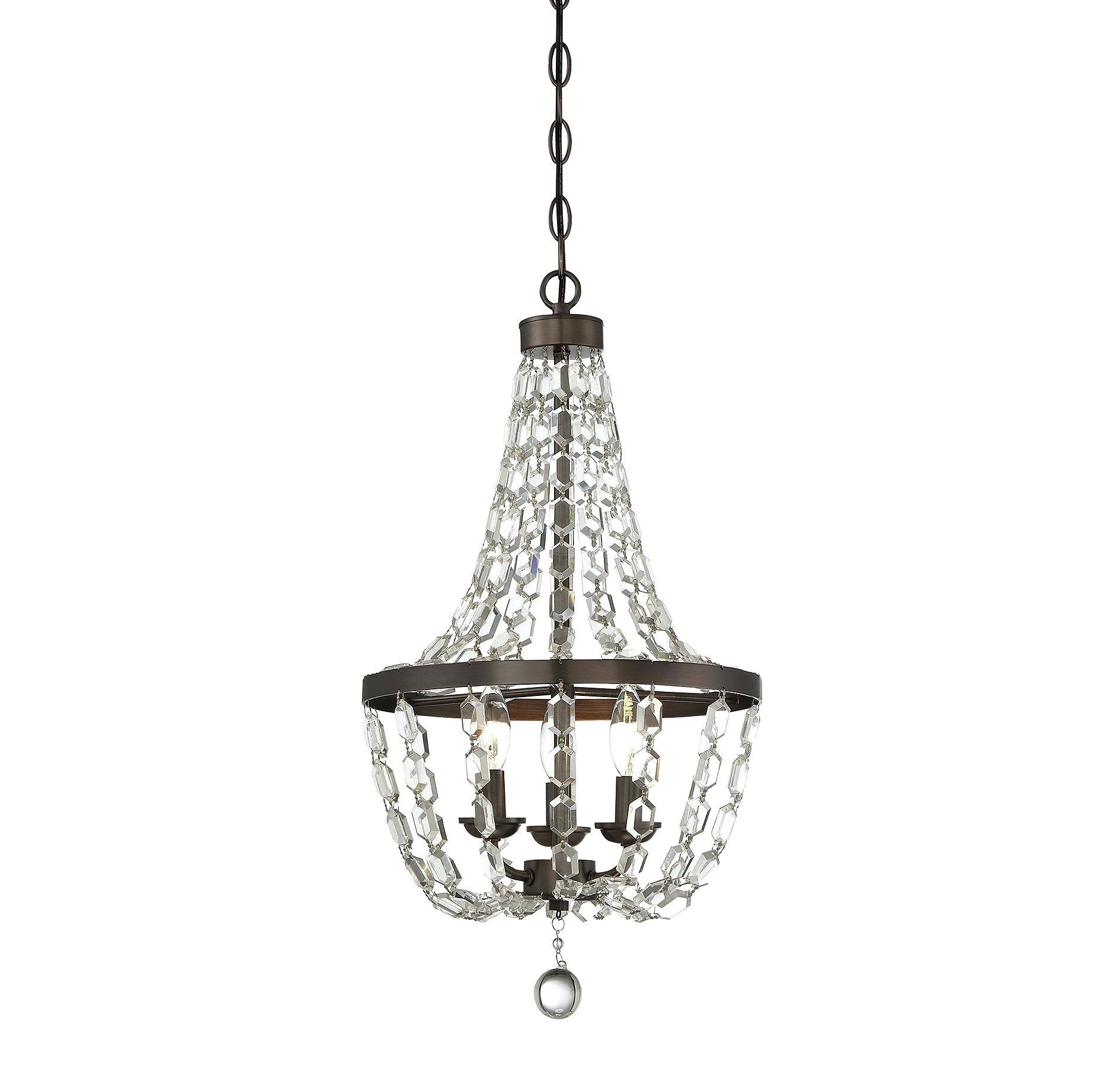 25 Best Ideas Faux Crystal Chandeliers