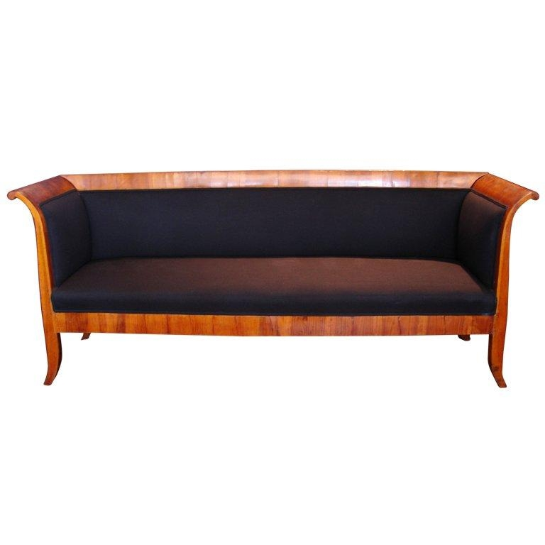 Elegant Early 19Th Century Biedermeier Sofa For Sale At 1Stdibs Throughout Biedermeier Sofas (Image 18 of 20)