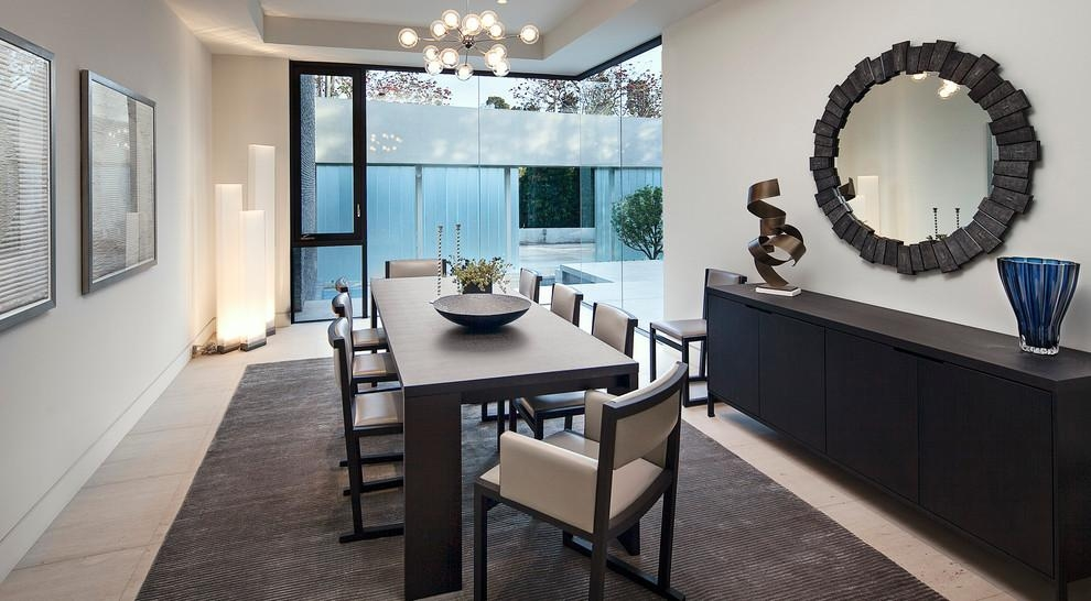 Elegant Possini Lighting Vogue Los Angeles Contemporary Dining Within Vogue Dining Tables (View 13 of 20)