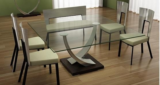 "Elite Tangent 60"" Square Dining Table Pertaining To Square Dining Tables (Image 12 of 20)"