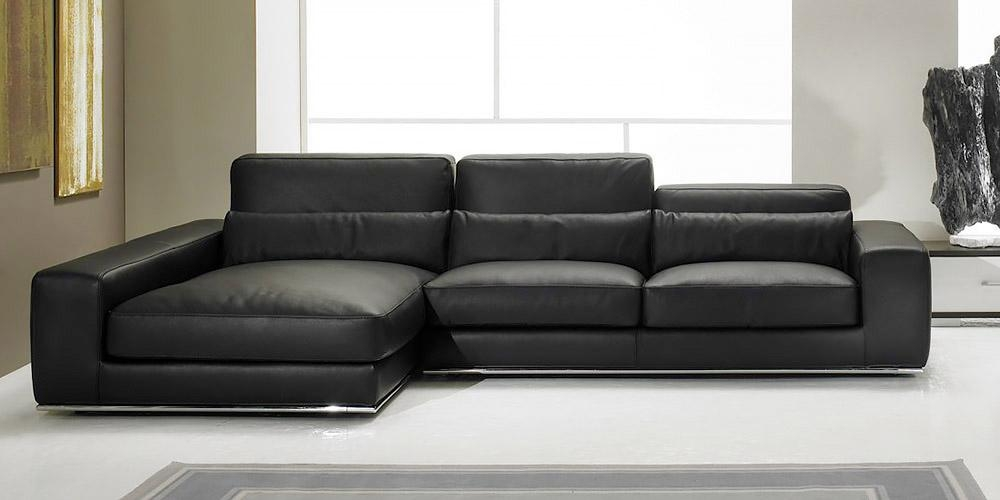 Emejing Corner Leather Sofa Sets Photos – Home Ideas Design – Cerpa Inside Black Leather Corner Sofas (Image 10 of 20)