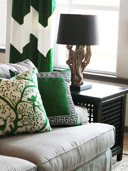Emerald Green Sofa | Houzz Regarding Emerald Green Sofas (Image 11 of 20)
