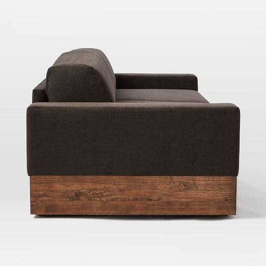 Emery Sofa + Twin Daybed W/ Trundle | West Elm With Sofas Daybed With Trundle (Image 9 of 20)