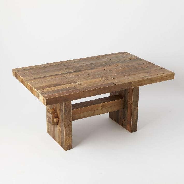 Emmerson® Reclaimed Wood Dining Table | West Elm For Cheap Reclaimed Wood Dining Tables (View 13 of 20)