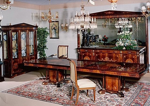 Empire Dining Room Furniture In Spanish Styletop And Best Italian With Regard To Imperial Dining Tables (Photo 17 of 20)