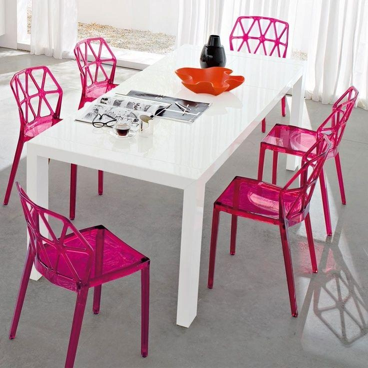 Enchanting Plastic Dining Room Chairs Images – 3D House Designs Within Clear Plastic Dining Tables (View 5 of 20)