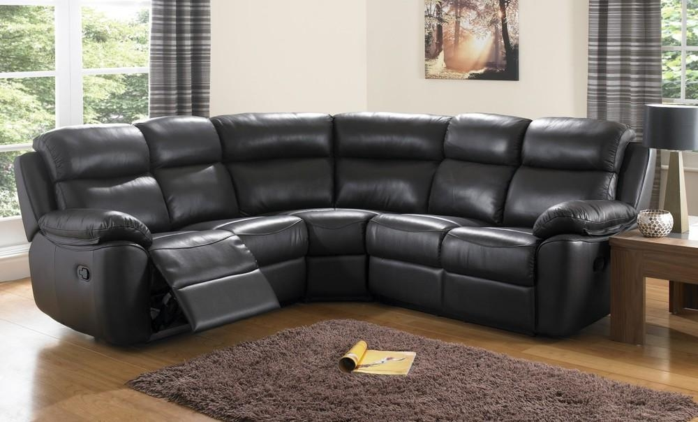 Featured Image of Black Leather Corner Sofas