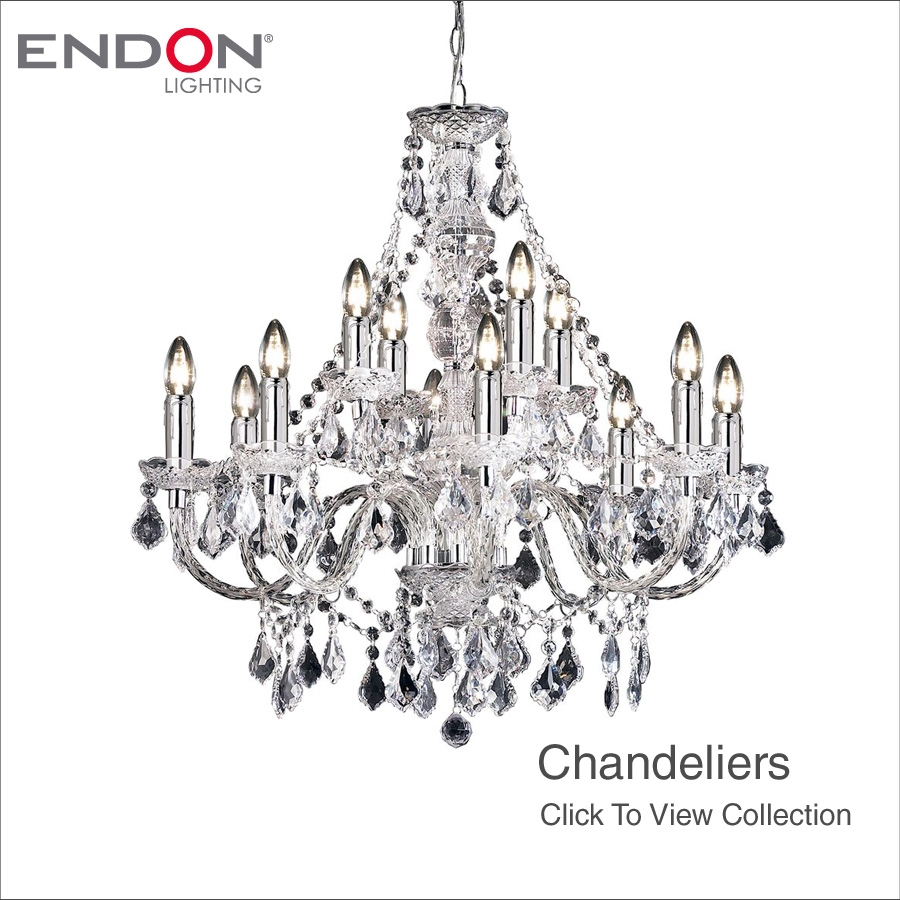 Endon Lights In Endon Lighting Chandeliers (View 13 of 25)