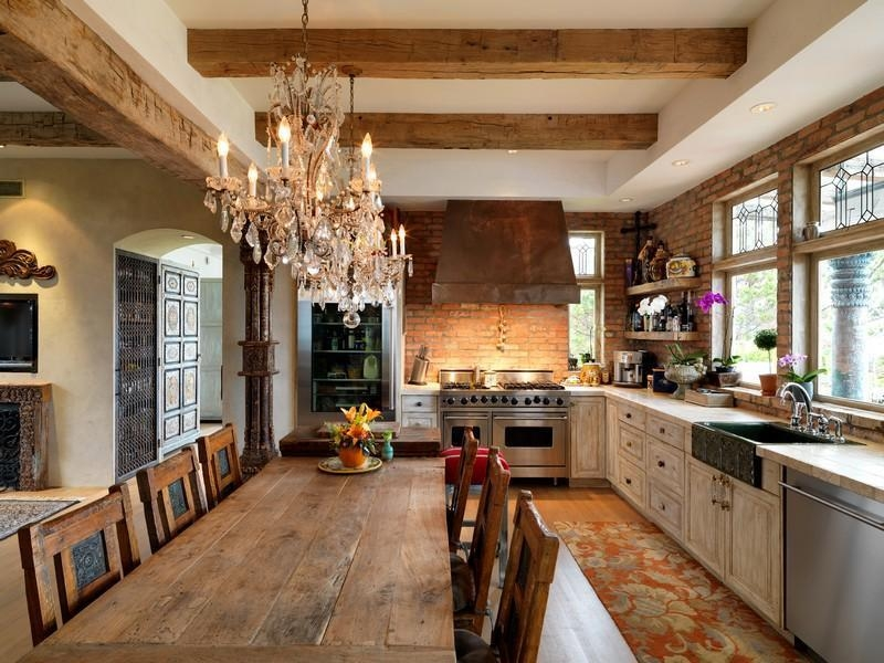 Epic Rustic Kitchen Chandelier 12 For Your Small Home Decor Inside Small Rustic Kitchen Chandeliers (Image 11 of 25)