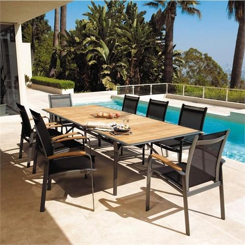 Ethos Extending Table, Ethos Dining Chair With Arms 374, 958 From With Regard To Extending Outdoor Dining Tables (Image 14 of 20)