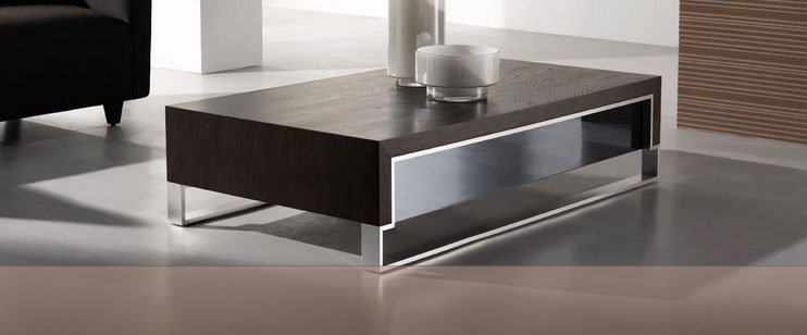 Excellent Best Chrome And Wood Coffee Tables With Traditional Chrome Coffee Table Design (View 44 of 50)