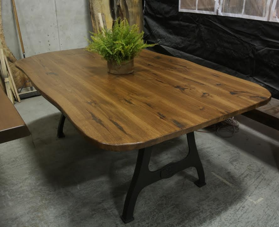 Excellent Best Coffee Table Rounded Corners With Regard To Live Edge Tables Lorimer Workshop (Image 12 of 50)