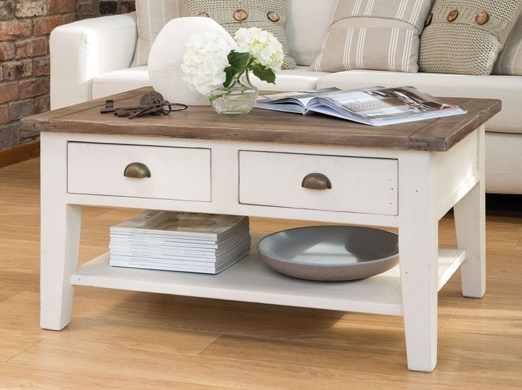 Excellent Best French White Coffee Tables Intended For Best 20 Country Coffee Table Ideas On Pinterest Diy Coffee (Image 18 of 50)