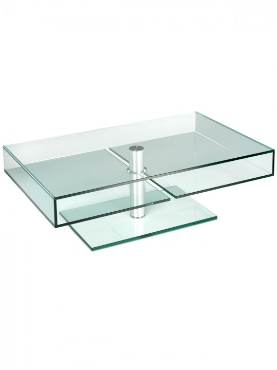 Excellent Best Glass Coffee Tables With Shelf Intended For Metal And Glass Coffee Table Glassdomain (View 35 of 50)