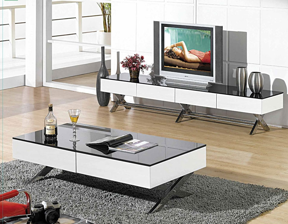 Excellent Best Long White TV Stands With Top 10 Modern Tv Stands For Your Living Room Cute Furniture (Image 14 of 50)