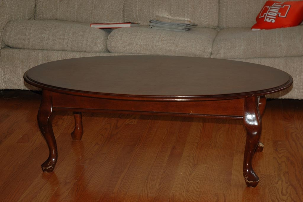 Excellent Best Oval Wood Coffee Tables Inside Antique Oval Coffee Table Coffee Table Design Ideas (Image 11 of 50)