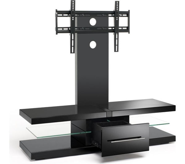 Excellent Best Techlink Echo Ec130tvb TV Stands Inside Buy Techlink Echo Ec130tvb Tv Stand With Bracket Free Delivery (Image 11 of 50)