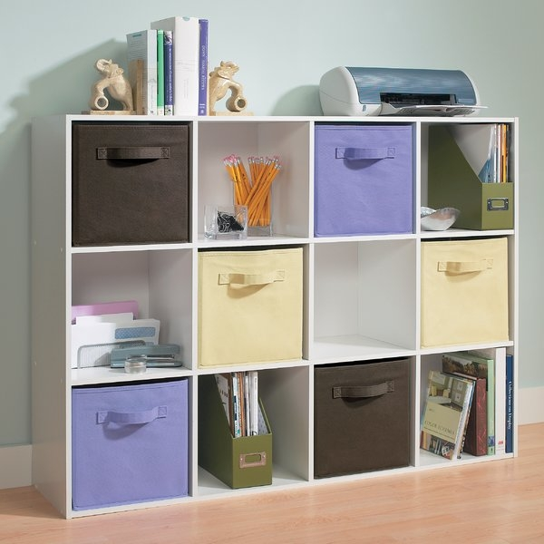 Excellent Best TV Stands With Storage Baskets With Regard To Cube Storage Youll Love Wayfair (Image 10 of 50)