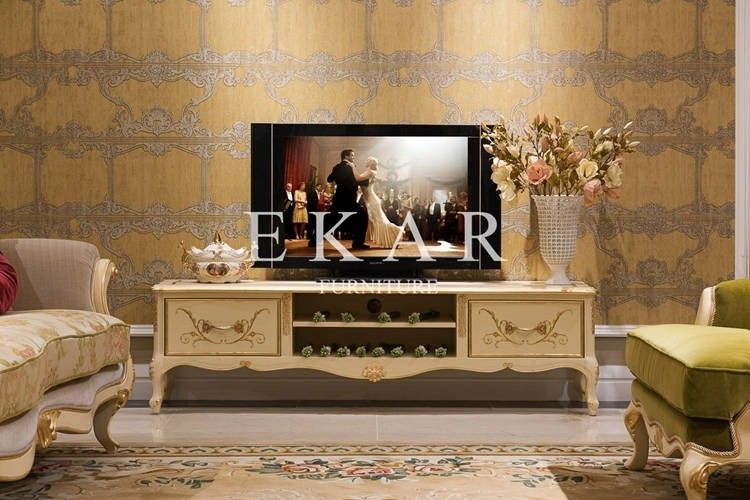 Excellent Brand New Classic TV Stands With Tv Stands Wooden Furniture Marble Tv Stand Living Room Furniture (Image 11 of 50)