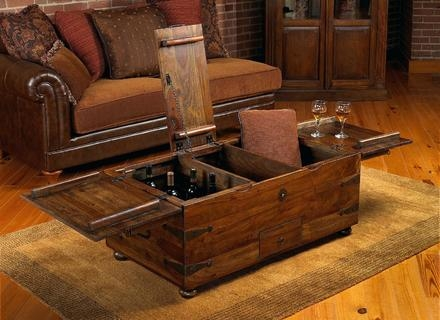 Excellent Brand New Dark Wood Chest Coffee Tables Within Wood Trunk Coffee Tables Jerichomafjarproject (Image 13 of 50)